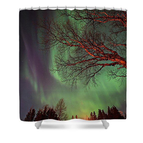 Spirits Of The Night    Shower Curtain
