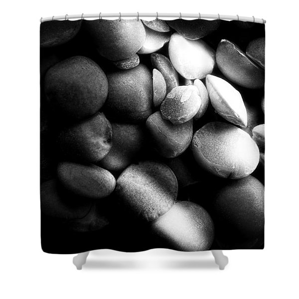 Split Peas Shower Curtain