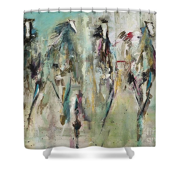 Spooked Shower Curtain