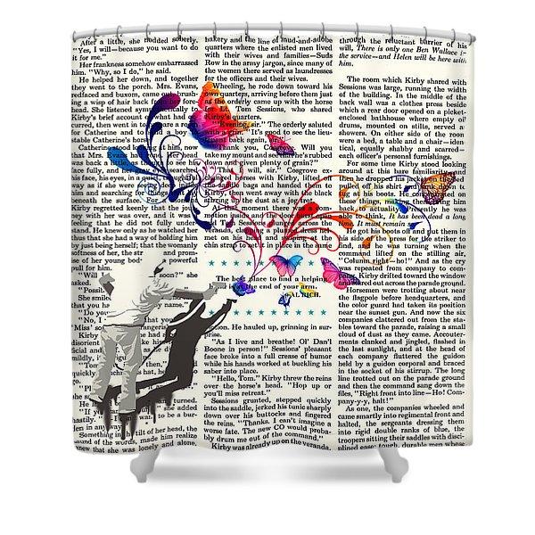 Spray Natura Graffiti Art Print Shower Curtain