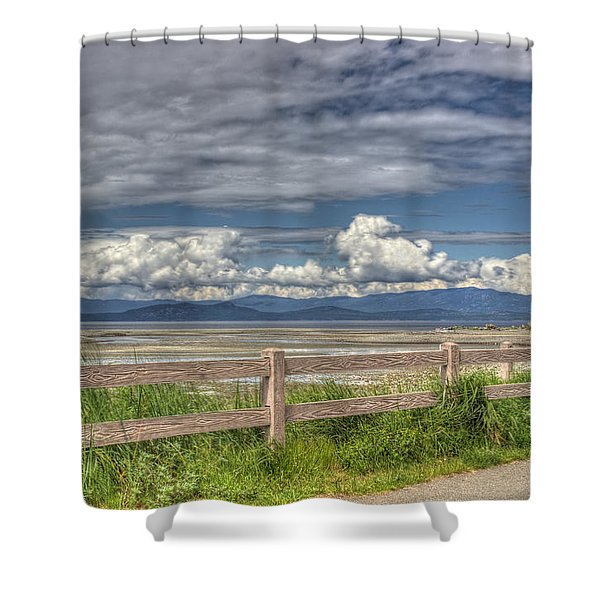 Spring Afternoon Shower Curtain