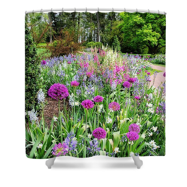 Spring Gardens Shower Curtain