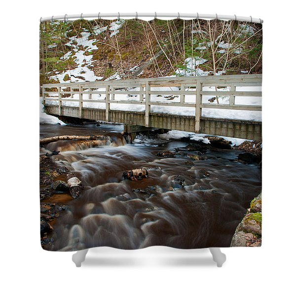 Spring Hike  Shower Curtain
