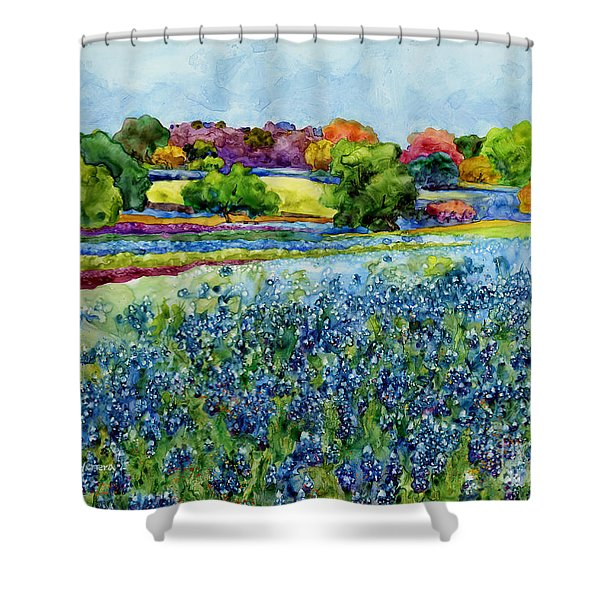 Spring Impressions Shower Curtain