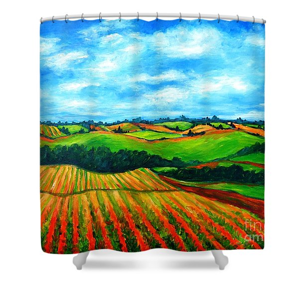 Spring In Prince Edward Island Shower Curtain