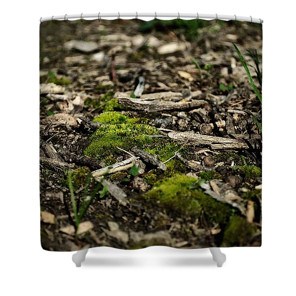 Spring Moss Shower Curtain