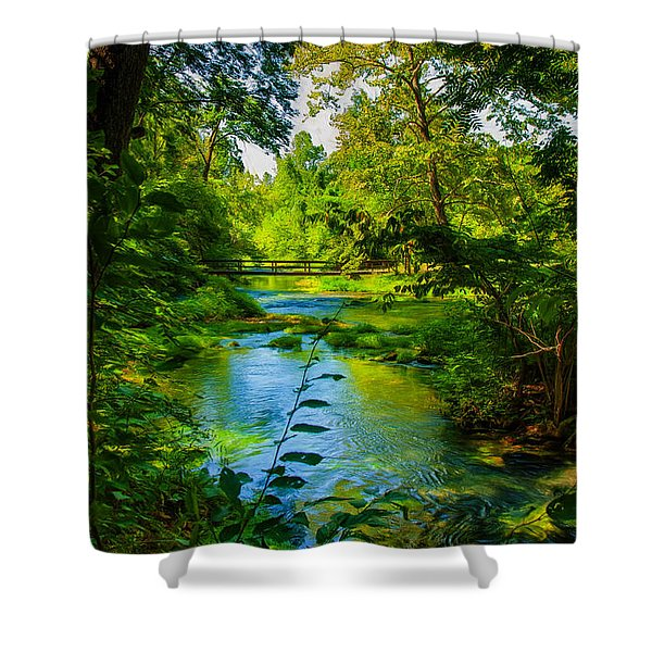 Spring Of Wonderment Shower Curtain