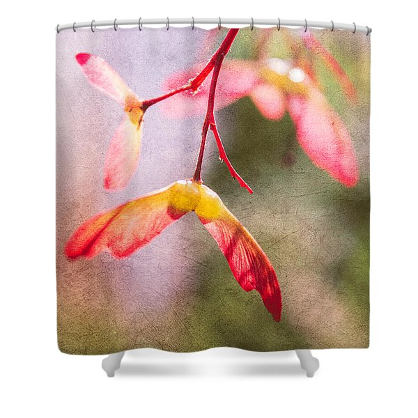 Spring Remembered Shower Curtain