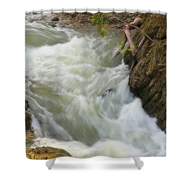 Spring Rush Shower Curtain