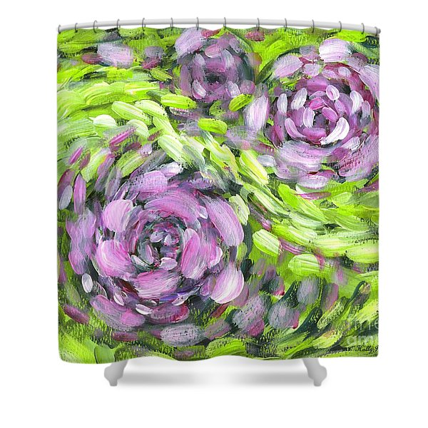 Spring Whirl Shower Curtain