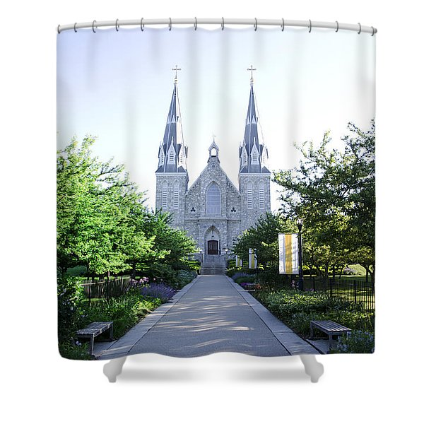 Springtime At Villanova Shower Curtain