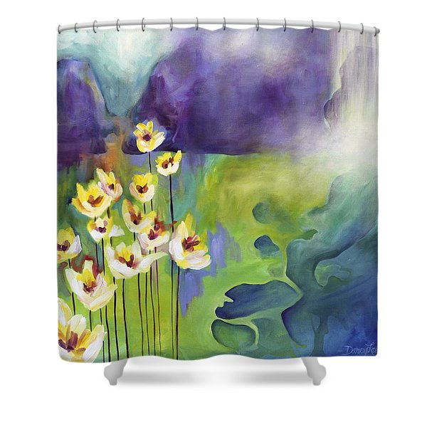 Sprouting Shower Curtain