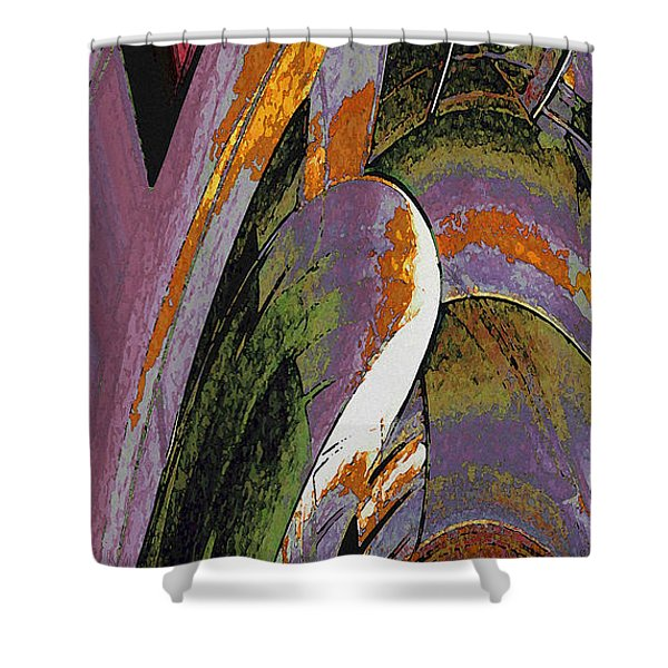 Spruce Goose Shower Curtain