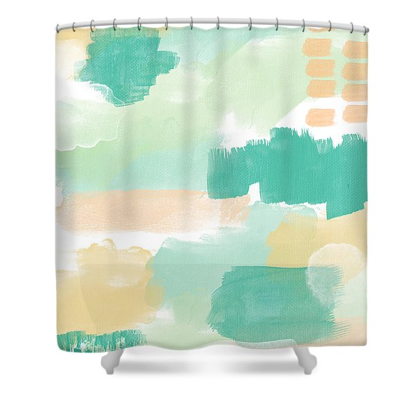 Spumoni- Abstract Painting Shower Curtain