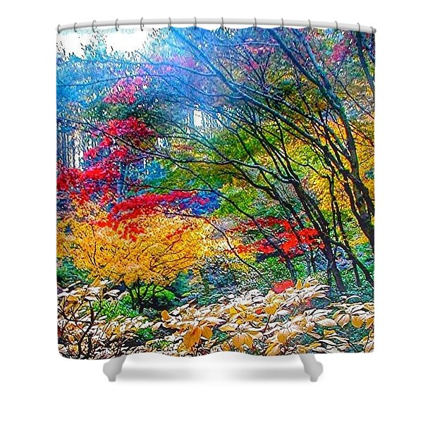 Nature In All Its Glory Shower Curtain