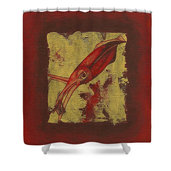 Squid Shower Curtain