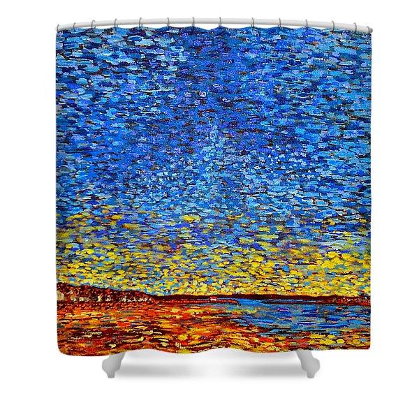 St. Andrews Sunset Shower Curtain