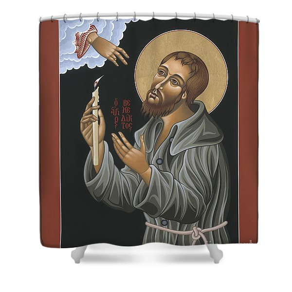 St. Benedict Joseph Labre 062 Shower Curtain