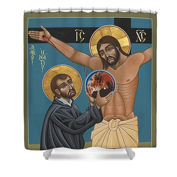 St. Ignatius And The Passion Of The World In The 21st Century 194 Shower Curtain