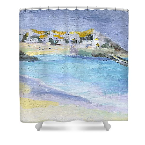 St Ives, Cornwall Shower Curtain