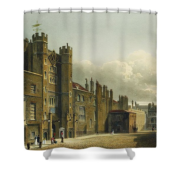 St. Jamess Palace, From The History Shower Curtain