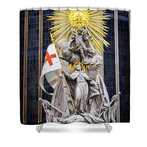 St. John Of Capistrano In Vienna Shower Curtain