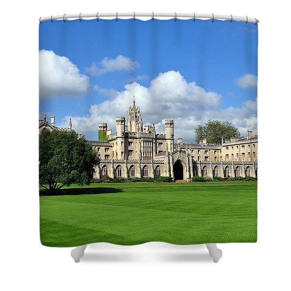 St. John's College Cambridge Shower Curtain