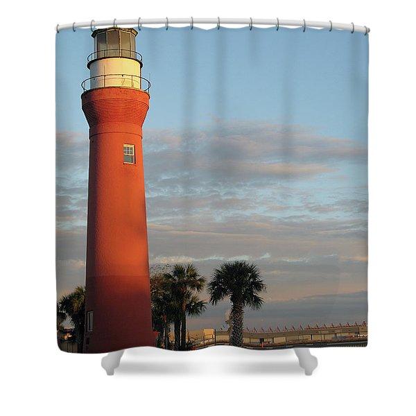 St. Johns River Lighthouse II Shower Curtain