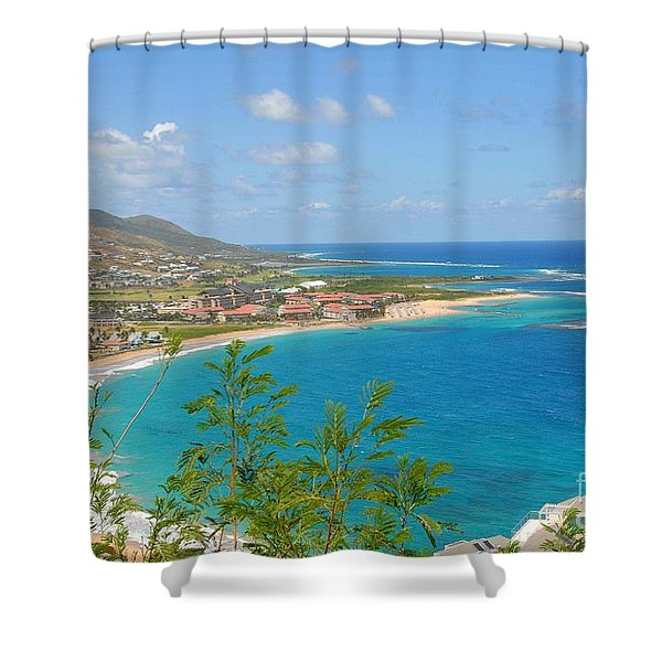 St. Kitts Shower Curtain