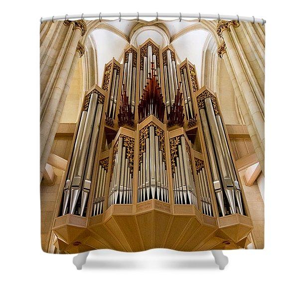 St Lambertus Organ Shower Curtain
