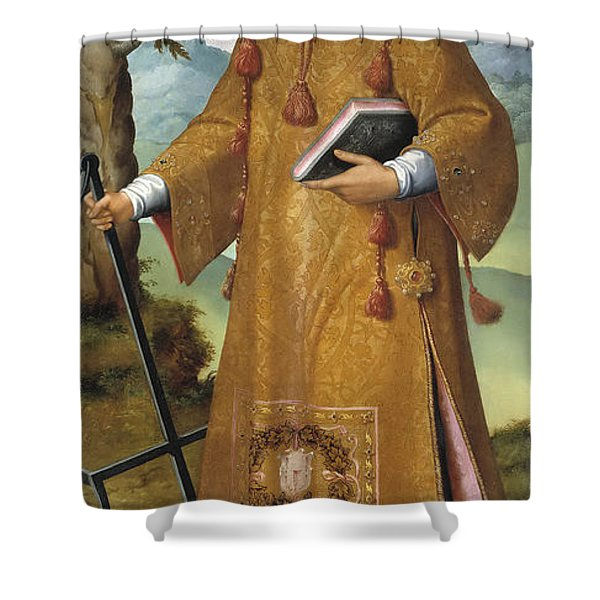 St Lawrence Shower Curtain