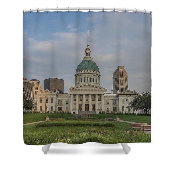 St Louis Blues Shower Curtains Fine Art America
