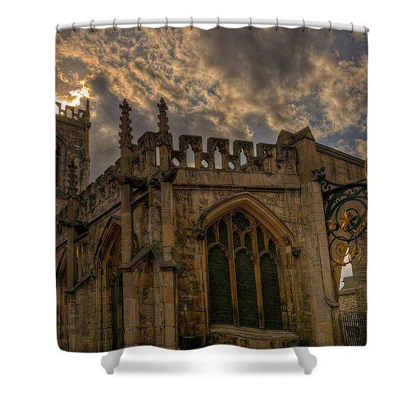 St Martin Coney Street In York Shower Curtain