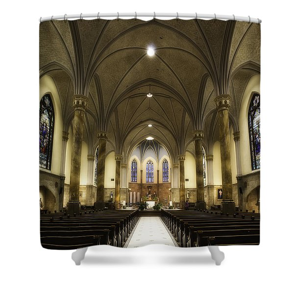 St Mary's Catholic Church Shower Curtain