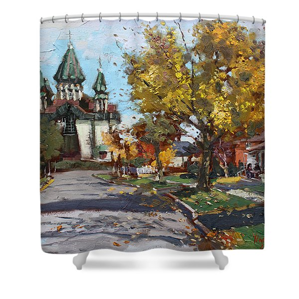 St. Marys Ukrainian Catholic Church Shower Curtain