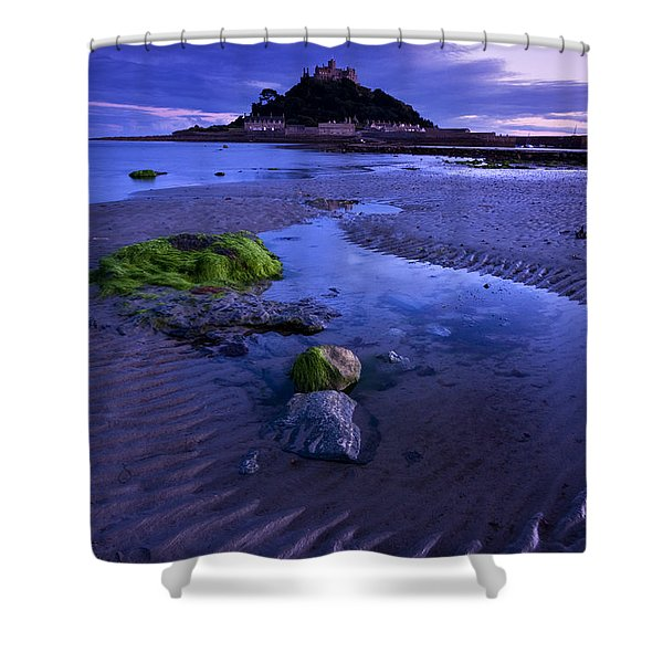 St Michael's Mount Shower Curtain