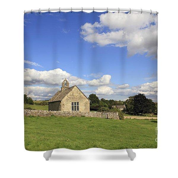 St Oswalds Chapel Oxfordshire Shower Curtain