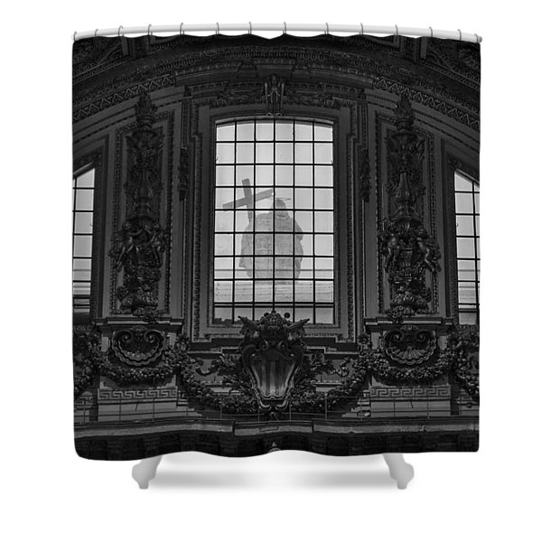 St Peter's Basilica In Vatican Shower Curtain