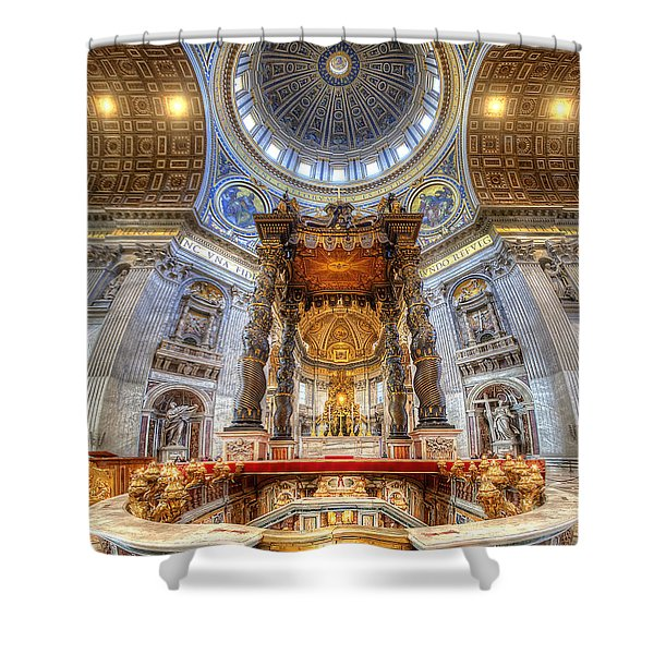 St Peter's Basilica Shower Curtain