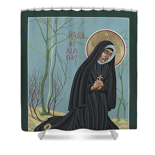 St. Philippine Duchesne 259 Shower Curtain
