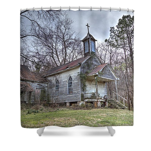 St. Simon's Church Shower Curtain
