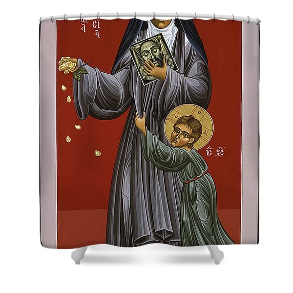 St. Therese Of Lisieux Doctor Of The Church 043 Shower Curtain