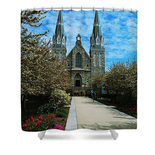 St Thomas Of Villanova Shower Curtain