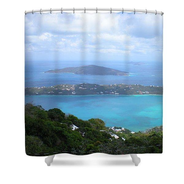 St-thomas Virgin Islands Usa Shower Curtain