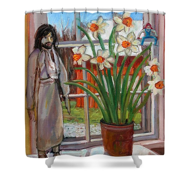 St007 Shower Curtain