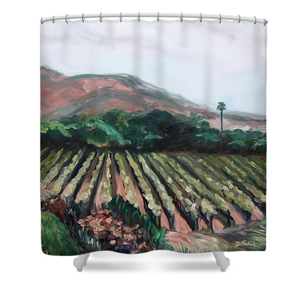 Stag's Leap Vineyard Shower Curtain