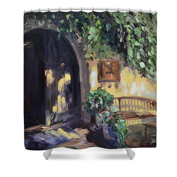 Stags Leap Wine Cellars Tasting Room Shower Curtain