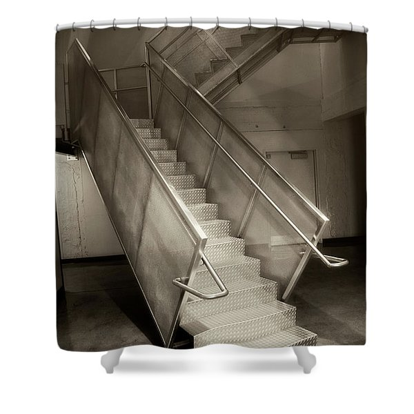 Stairs 01 Shower Curtain