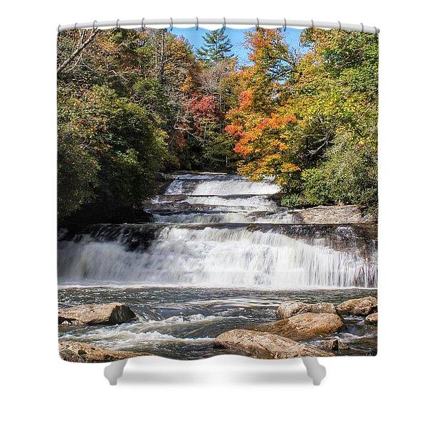 Stairway Falls Shower Curtain