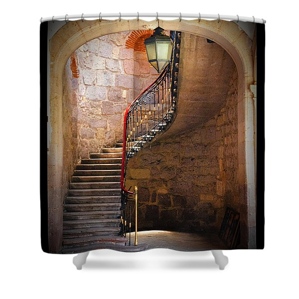 Stairway Of Light Shower Curtain